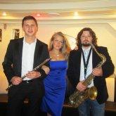 <p>с саксофонистом Антоном Боевым и флейтистом Алексом Бруни</p>