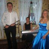 <p>с флейтистом Алексом Бруни и пианисткой В.Морозовой</p>