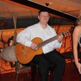 <p>с гитаристом Сергеем Нестеровым</p>