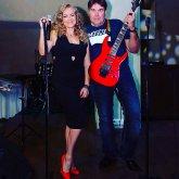 <p>С гитаристом Игорем Черниковым</p>